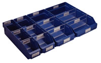 Topstore - Shelf Bins: click to enlarge