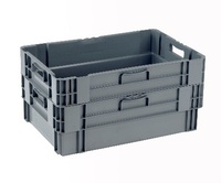 Stack & Nest Euro Containers: click to enlarge