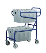 Topstore - Double Container Trolley