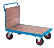 Firm Loading Trolleys with Plywood Ends & Sides - 500Kg Capacity