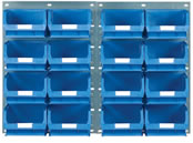 Topstore - 1 Panel High x 2 Panels Wide TC Bin Kits