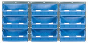 Topstore - 1 Panel High x 3 Panels Wide TC Bin Kits